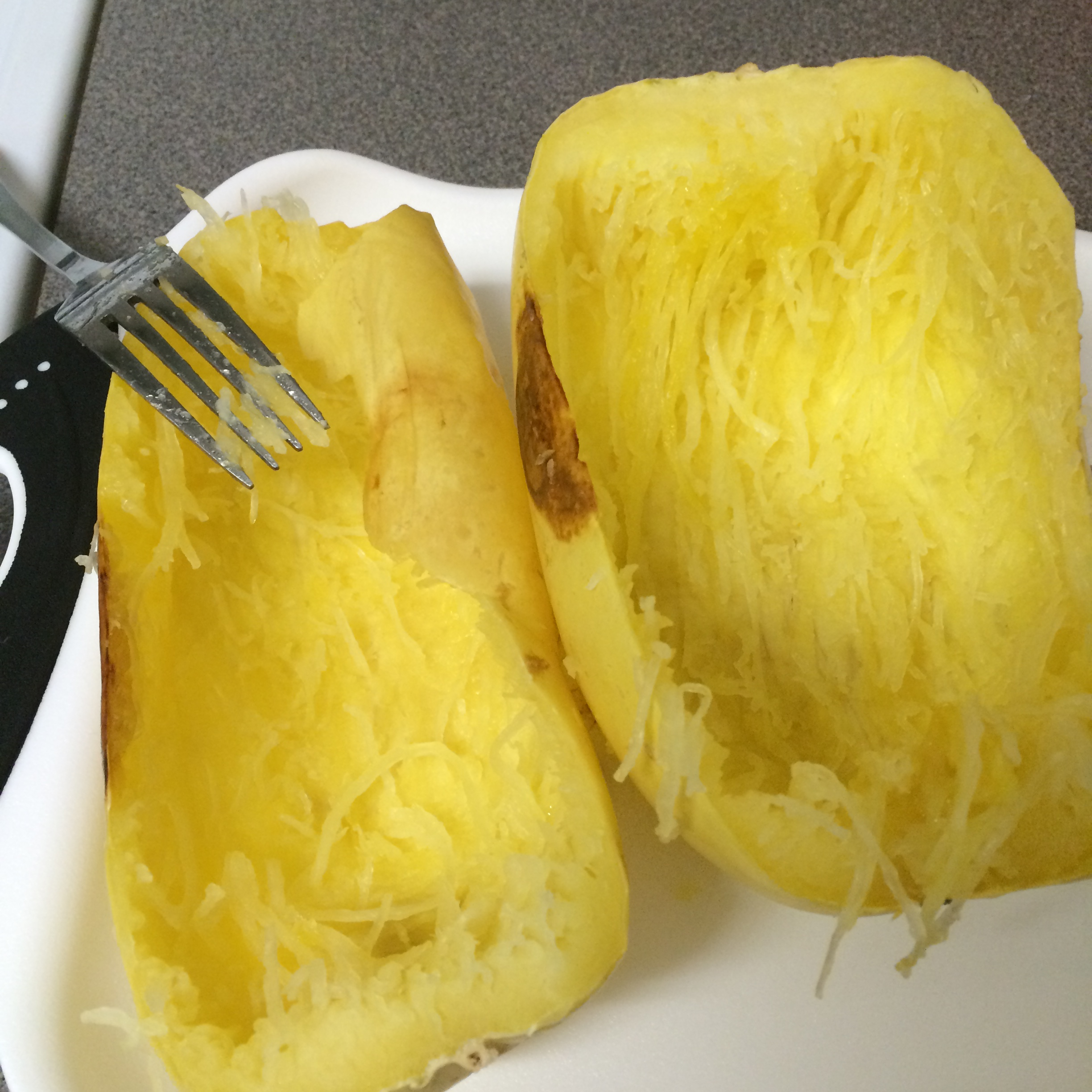 how to make vegetable spaghetti squash